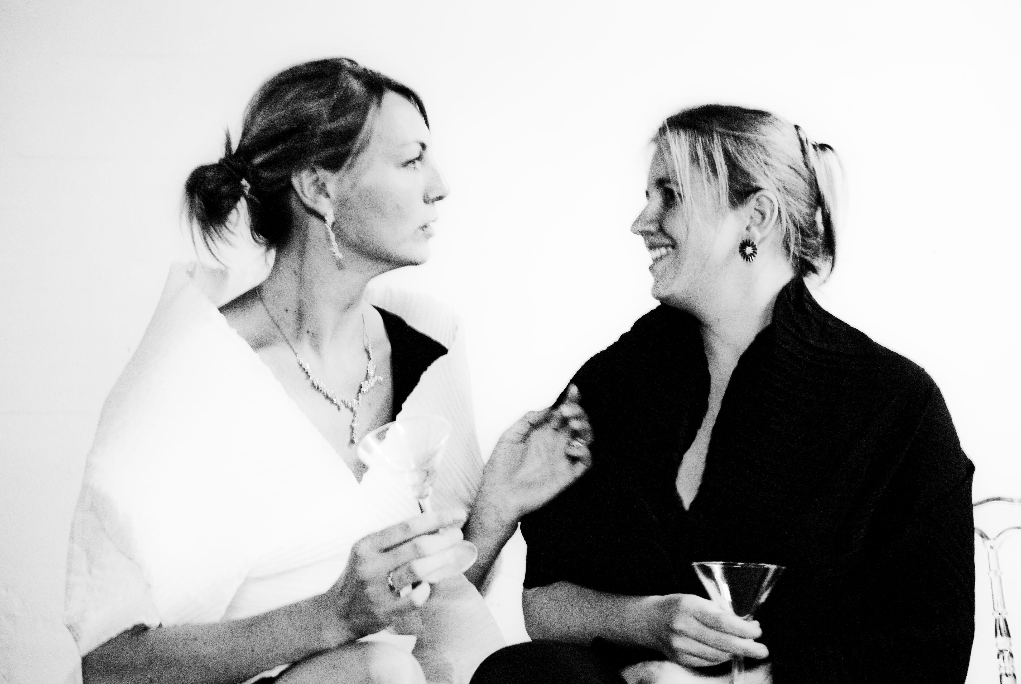 Camilla en Janet